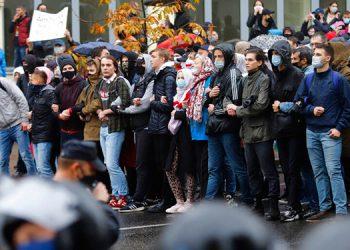 Decenas de detenidos durante protestas en Bielorrusia
