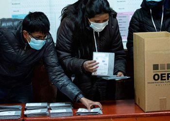 El conteo de votos sigue en Bolivia ya con Luis Arce del MAS como primero