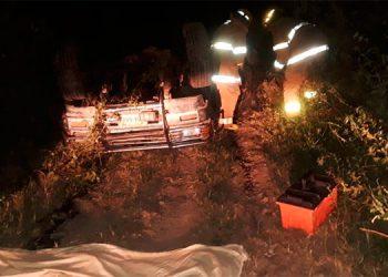 Hombre muere calcinado tras fatal accidente en Olancho
