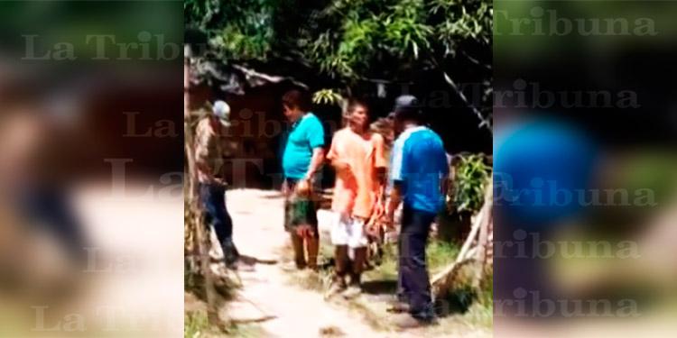 Hombre es ultimado a machetazos dentro de cantina en Choluteca