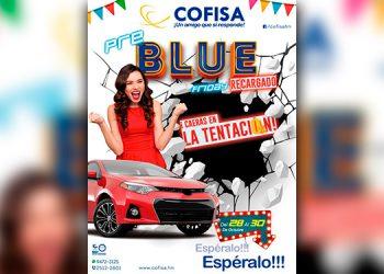 Visita Cofisa del 28 al 30 de octubre y aprovecha la gran promoción Pre Blue Friday Recargado con cero gastos de cierre y con interés rebajado al 3.5%.