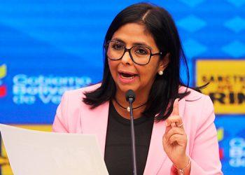 Delcy Rodríguez dice que Venezuela recibirá inversiones sin revelar procedencia