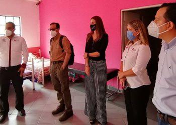 En Tamaulipas, la delegación consular visitó el Centro de Atención al menor Fronterizo (CAMEF) se reunió con la Procuradora para el Niño, la Niña y la Familia de la ciudad de Matamoros.