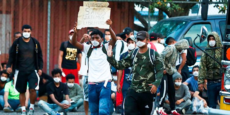 Cifra de hondureños deportados disminuye un 65.4 % hasta septiembre de 2020