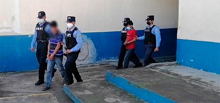 Detienen a dos sospechosos del delito de violación en Intibucá