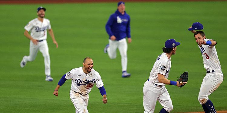 Los Dodgers vencen a los Rays y conquistan su primera Serie Mundial desde 1988