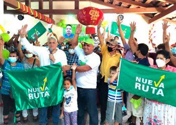 Nueva Ruta juramenta dirigentes en Choluteca