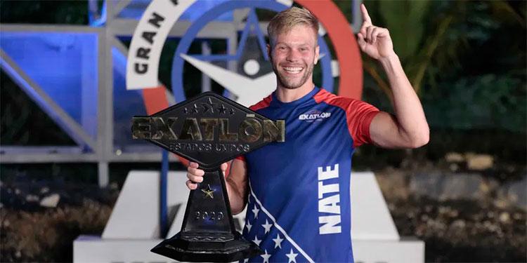 Nate Burkhalter se corona como campeón de la cuarta temporada de 'Exatlón Estados Unidos'