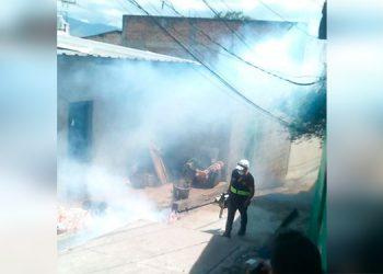 AMDC y Secretaría de Salud mantienen operativos de limpieza contra el Dengue