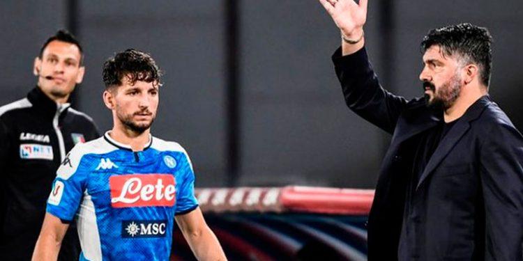Impiden al Nápoles viajar a Turín para jugar con Juventus ante casos COVID-19