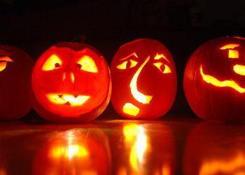 Sangrienta decoración de Halloween genera controversia