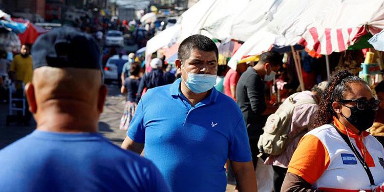 Honduras llega a 90.232 contagiados con COVID-19 y 2.582 muertos