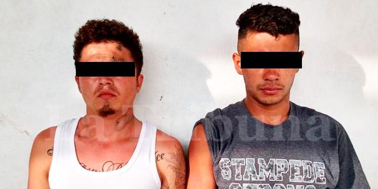 Caen en México dos presuntos pandilleros hondureños por venta de drogas