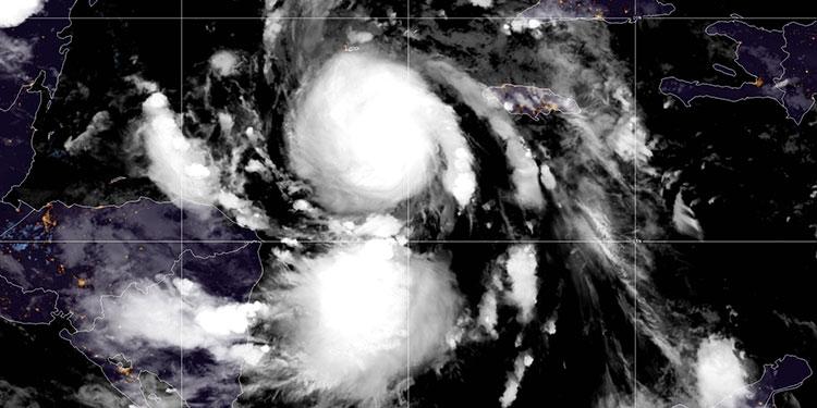 Honduras en alerta por los efectos indirectos de huracán Delta