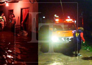 Lluvias dejan inundaciones en Quimistán y Siguatepeque