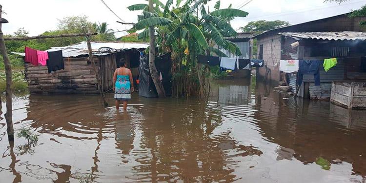 Los pobladores de las zonas afectadas no salieron de sus casas, ya que por años conviven con los efectos del invierno.