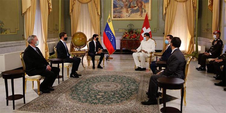 Maduro recibe a nuevo embajador de Suiza como un reconocimiento a su Gobierno
