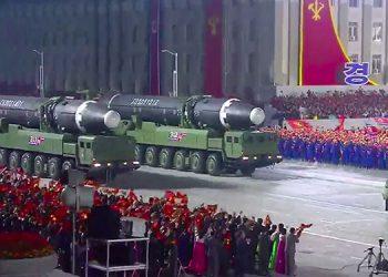 EEUU minimiza riesgo de misil gigante de Corea del Norte