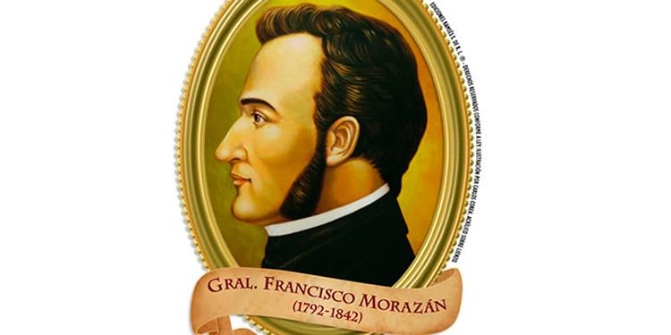 En homenaje a Francisco Morazán en la fecha de su nacimiento hoy