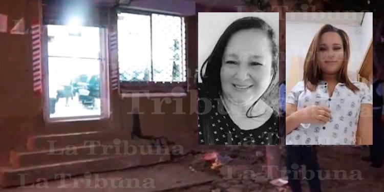 Dentro de barbería matan a madre e hija en Comayagüela