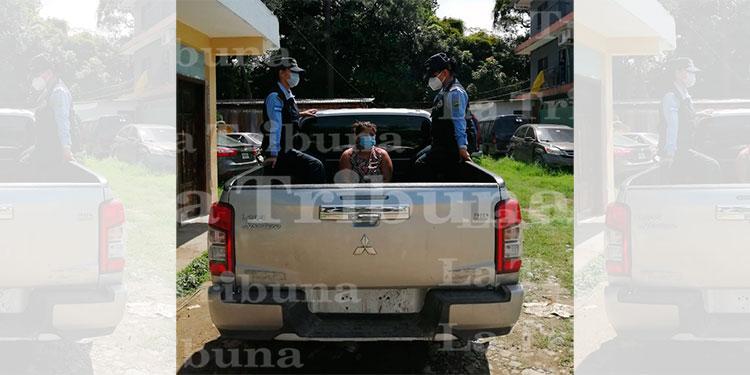 Capturan a sospechosa de delito sexual en perjuicio de una menor de 12 años en Yoro