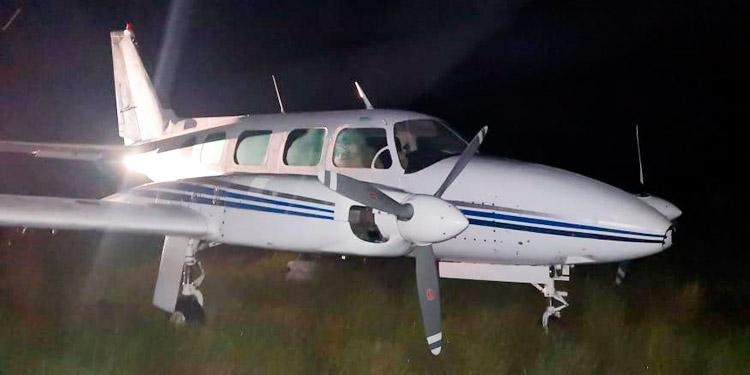 Autoridades colombianas participaron en detección de narcoavioneta en Honduras
