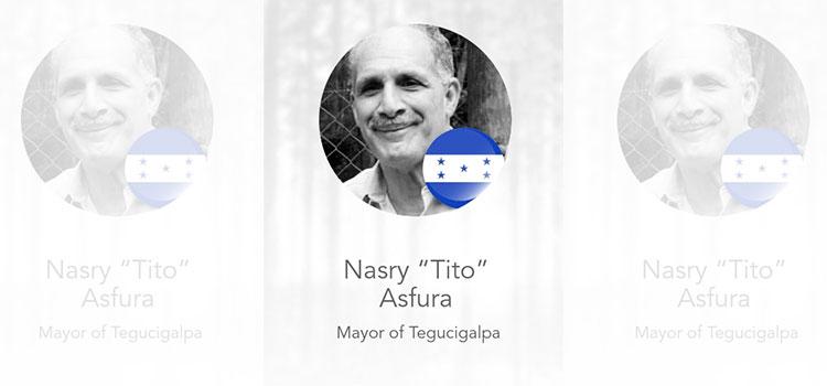 Alcalde Nasry Asfura entre los 100 latinos más comprometidos con la acción climática