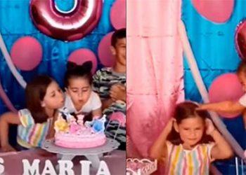 Reaparecen hermanitas de la pelea viral en cumpleaños y piden disculpas