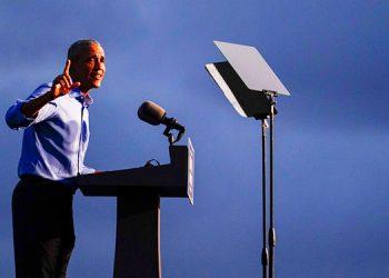 Obama critica a Trump, llama a votar 'como nunca antes'