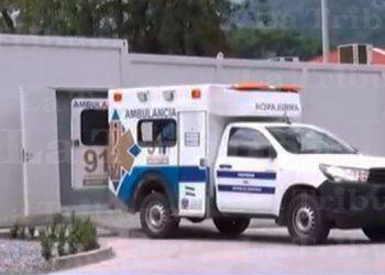 Trasladan primeros pacientes COVID-19 al hospital móvil de SPS