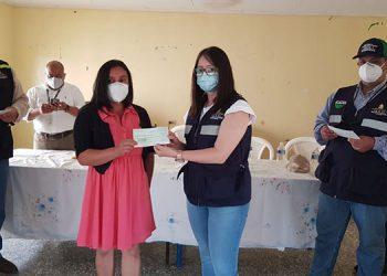 En el evento estuvieron presentes representantes del programa de Banca Solidaria.