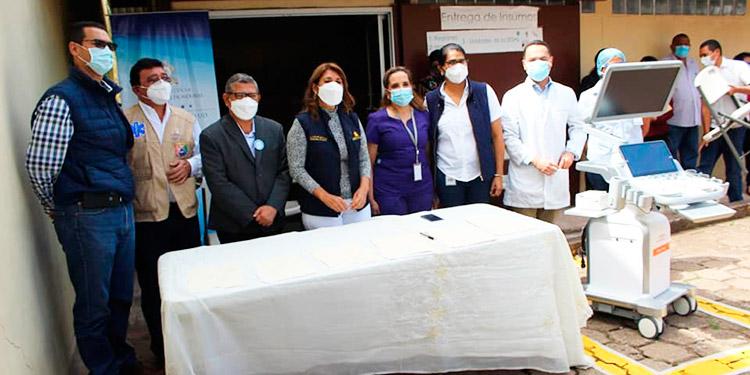 Salud fortalece la red hospitalaria del país con equipo biomédico