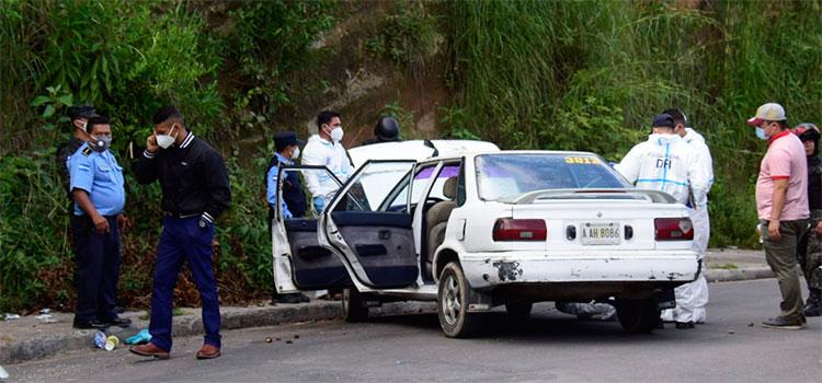 Sicarios matan a taxista en la residencial La Cañada