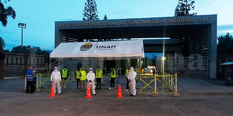 UNAH inicia hoy la aplicación de las pruebas de admisión a nivel nacional