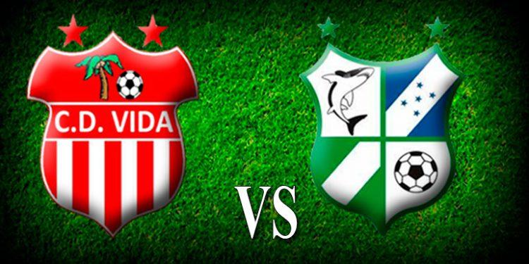 Vida – Platense trepidante juego de goles en La Ceiba