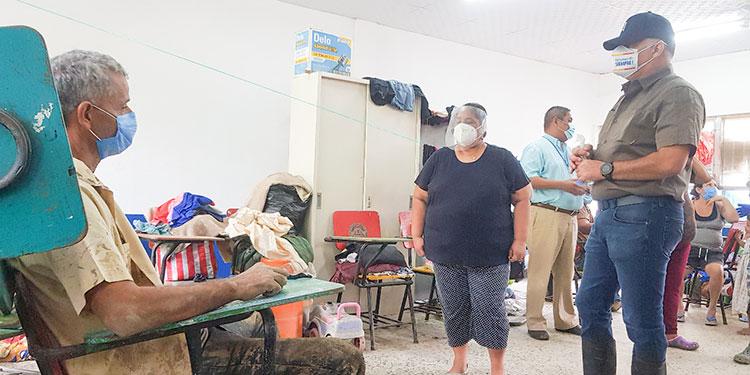 12 mil damnificados con asistencia humanitaria en los albergues