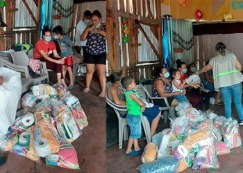 71 familias siguen en 22 albergues