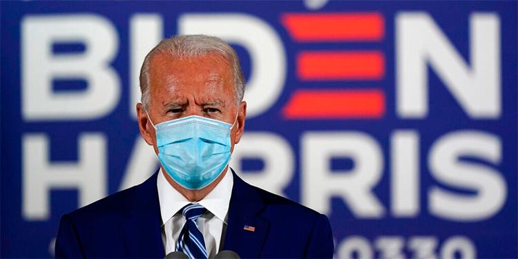 Biden gana en Columbia, Delaware, Maryland, Virginia y Massachusetts