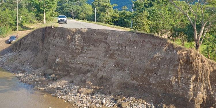 El gobierno ha invertido en daños ocasionados tras el paso de la tormenta Eta.