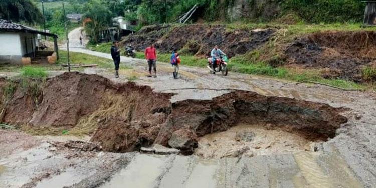 Tres desaparecidos y 39 viviendas afectadas en Trojes