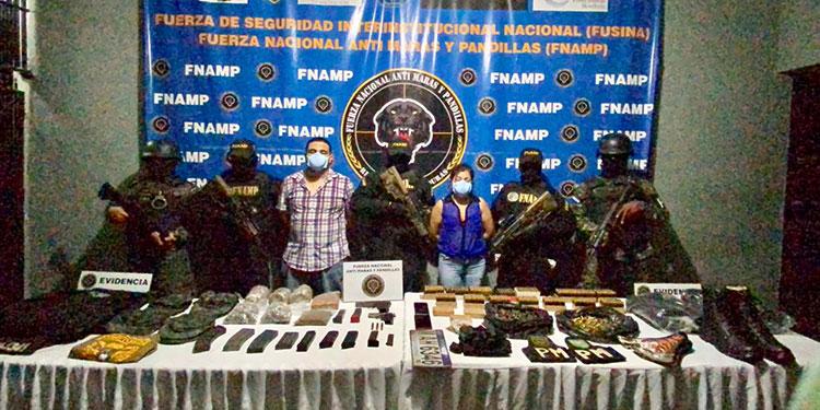 Imponen detención judicial a pareja por tráfico de drogas