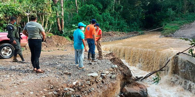 Las Selvas, El Paraíso, está incomunicada y ha perdido su proyecto de abastecimiento de agua.