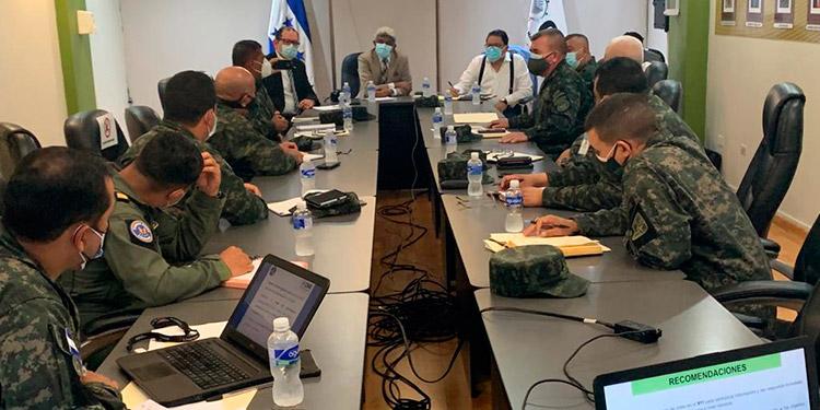 FF.AA. y CNE se reúnen para desarrollar el Plan Logístico