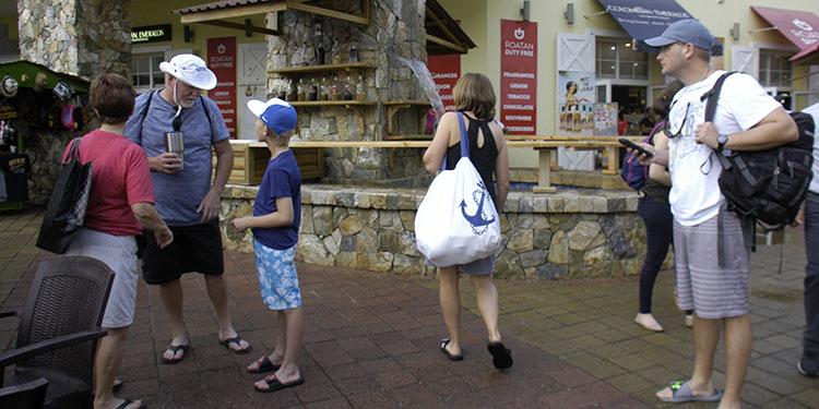 En 42.8% cae llegada de viajeros extranjeros