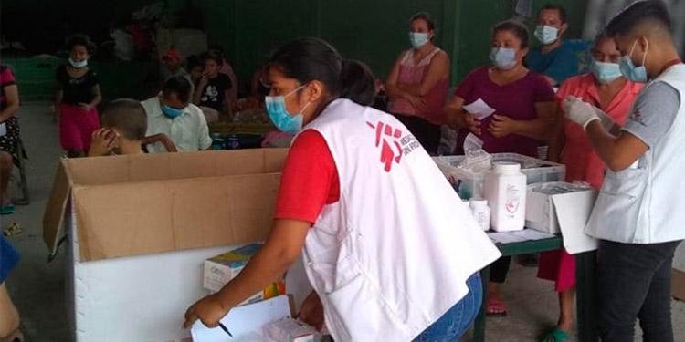 Médicos sin Fronteras ayuda a 79 albergues