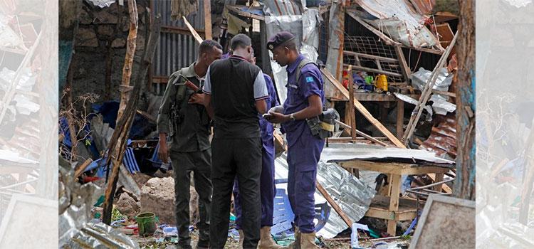 Cinco muertos en ataque suicida en Mogadiscio