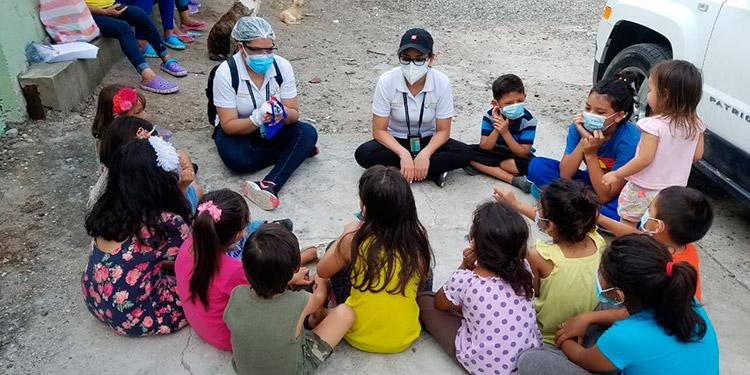 MP atiende niños de 40 albergues en la zona norte