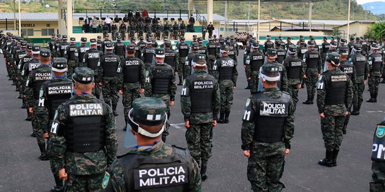 Policía Militar gradúa 293 nuevos efectivos
