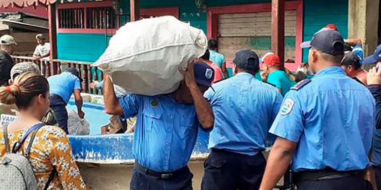 La Policía dará seguridad a la zona para que no lleguen los ladrones.