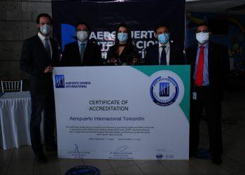 Certifican bioseguridad de aeropuerto Toncontín